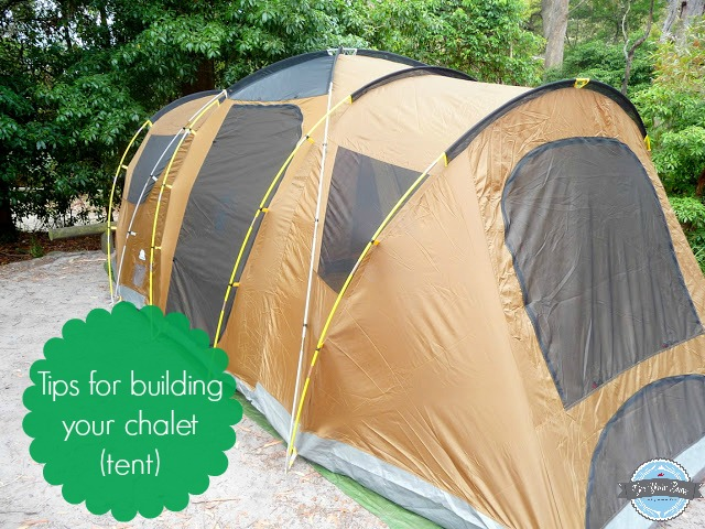 how to build your holiday chalet tent gee you 39 re brave. Black Bedroom Furniture Sets. Home Design Ideas