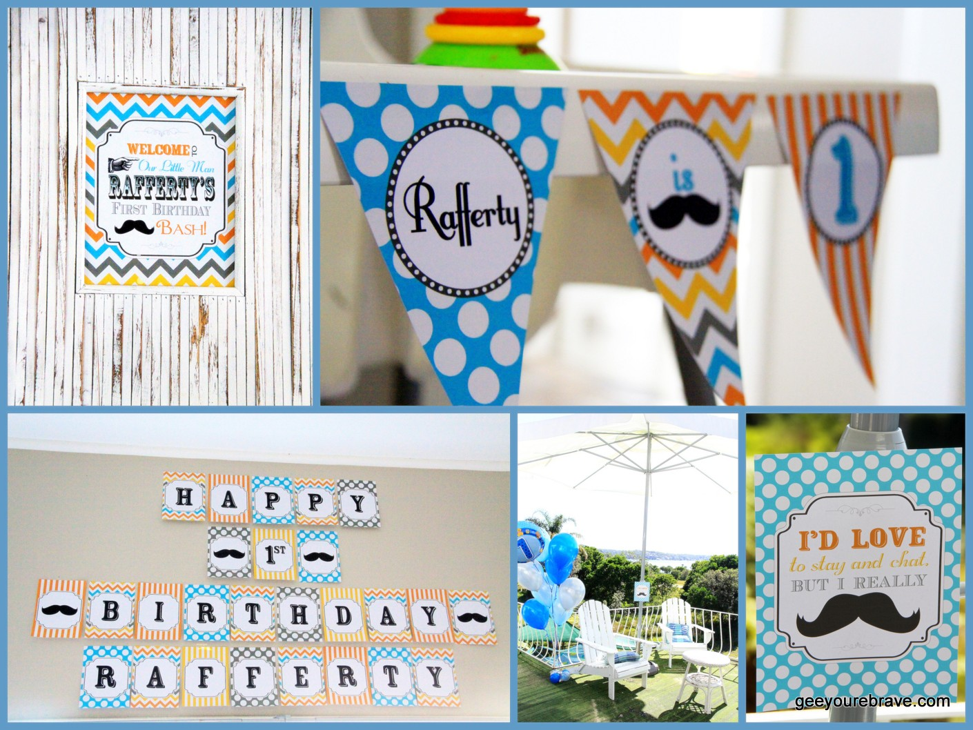Decorations Kept Simple With DIY Printables