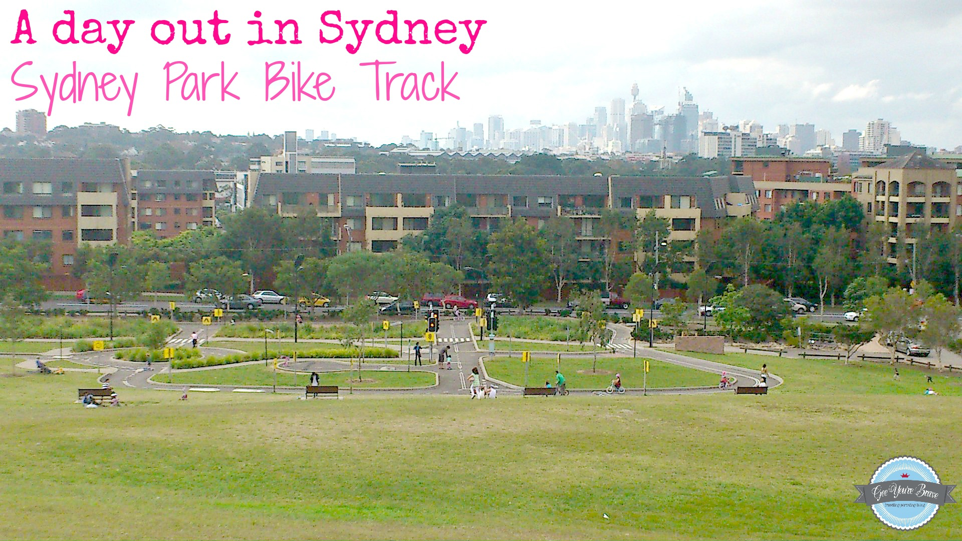 A Day Out In Sydney With Kids Sydney Bike Track Gee You Re Brave