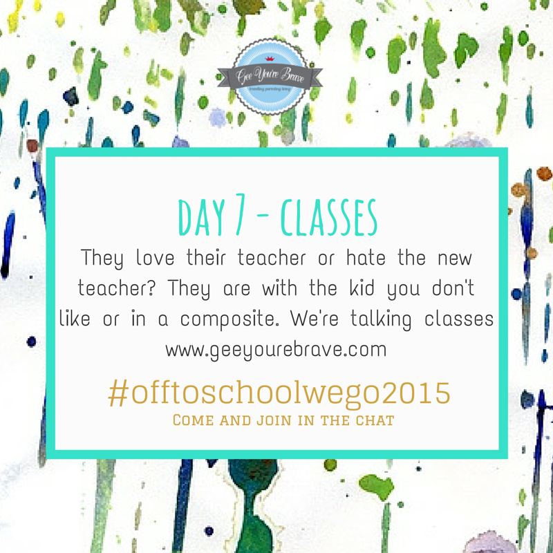 day 7 classes