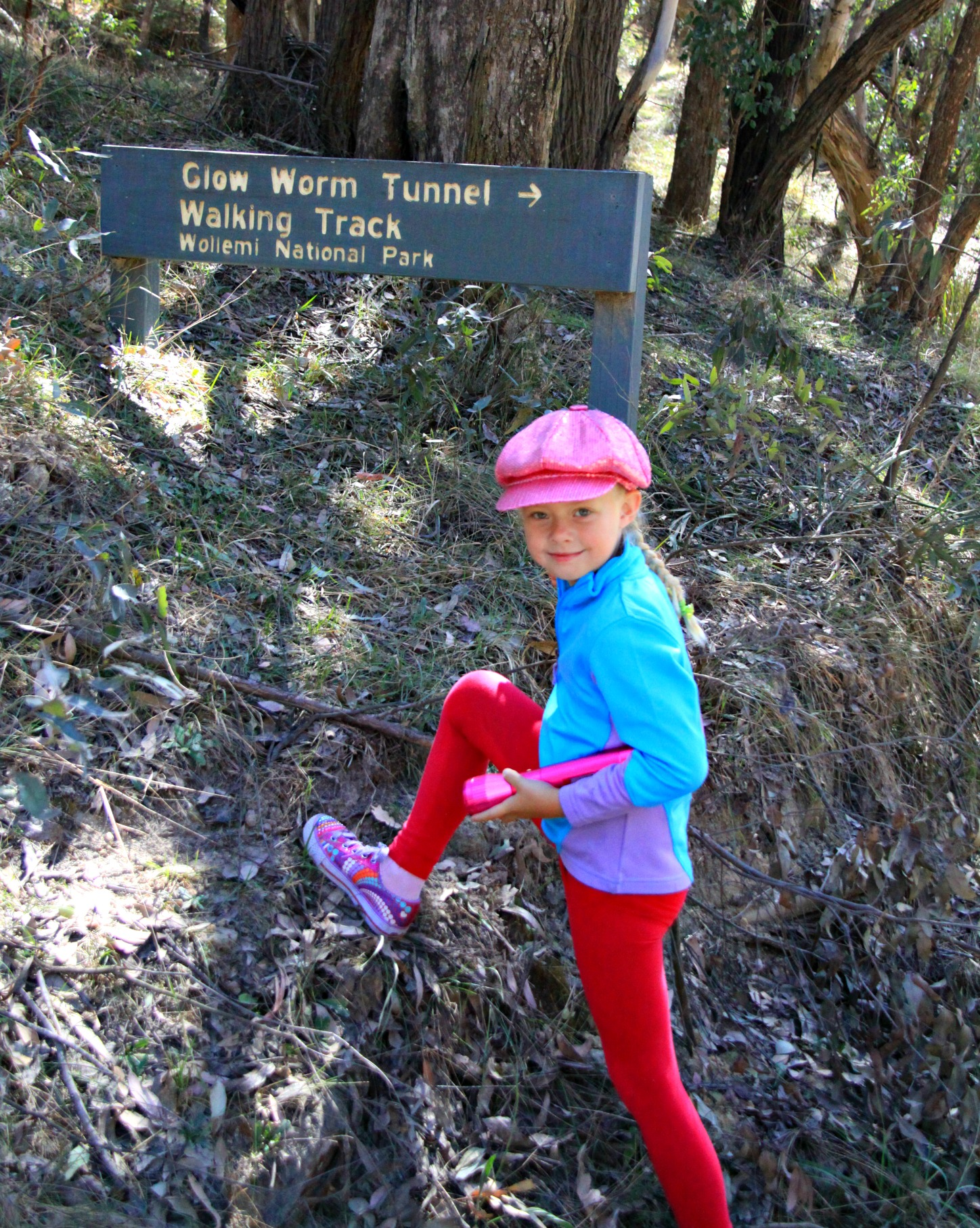 Important to look your best bushwalking.