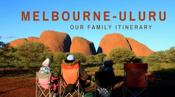 Our Melbourne to Uluru Roadtrip with Kids