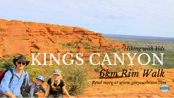 Hiking the Kings Canyon Rim Walk with Kids
