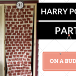 How to throw an awesome Harry Potter Themed Party on a budget